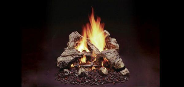 Duzy 2 Vented Gas Log Set