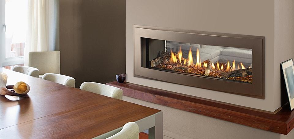 Heatilator Crave See Through Series Gas, See Through Gas Fireplace Ideas