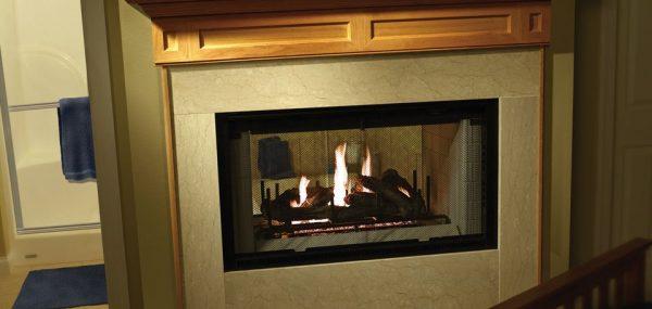 Heatilator Multi-sided Wood Fireplace